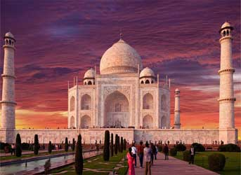Book a tour to India
